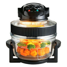 1400w Electric Multi Functional Halogen Oven Cooker 17 Litre Low Fat Air Fryer