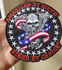 RIDE Forever SKULL PATCH RICAMATE aufbügler biker chopper moto rocker Harley