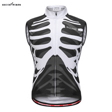 Men's Cycling Vest Sleeveless Jersey MTB Bike Gilet Lightweight Tops Breathable