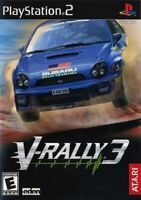 V-Rally 3 - Playstation 2 Game Complete