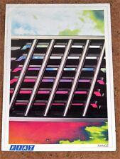 1986 FIAT RANGE Sales Brochure - X1/9VS, Uno Turbo, 126, Panda 4x4 Strada Regata