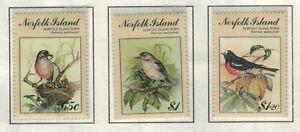 Norfolk Island, Scott 497 - 499 in MNH Condition