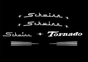Schwinn Cruiser Tornado Decal Set