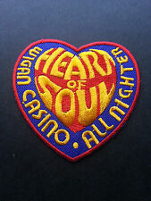 NORTHERN SOUL MUSIC SEW ON / IRON ON PATCH:- WIGAN CASINO (a) HEART OF SOUL