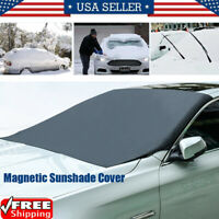 Magnetic Car Windshield Covers Universal Ice Frost Guard Sun Shade Protector USA