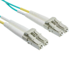 1.0Mtr LC - LC OM3 Multimode Duplex Fibre Patch Cord