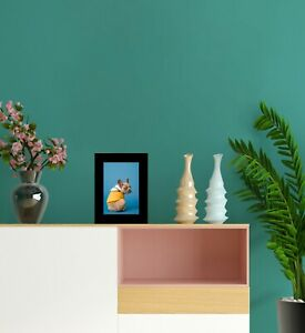 "[Set of 3] Black Photo Frame 4""x6"" (10.1x15.2 cm) Wooden Wall Hang Portrait"