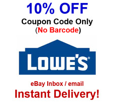 image about Lowes 50 Off 250 Printable Coupon referred to as Lowes Discount coupons for sale eBay