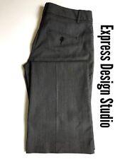 Express Design Studio Dress Pants Size 2 Womens Black Gray Editor Barely Boot