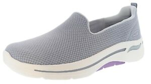 HOT SKECHERS WOMEN'S GO WALK ARCH FIT- GRATEFUL 124401 LIGHTWEIGHT WALKING SHOES