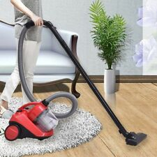 1200W Bagless Cord Rewind Canister Vacuum Cleaner w/Washable Filter House Tool