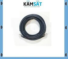 RG213 Low Loss 50 Ohm Coaxial Cable 15m Fitted With 2 x PL259 Male Connectors