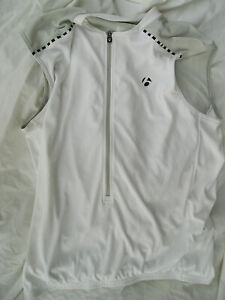Bontrager White Sleeveless jersey-M
