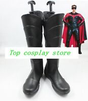 fate stay night Tohsaka Rin cos Cosplay Shoes Boots shoe boot  #JZ64 short brown