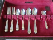 Sherwood silver plate cutlery 8 place setting