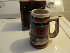 1997 BUDWEISER HOLIDAY BEER STEIN HOME FOR THE HOLIDAYS original box