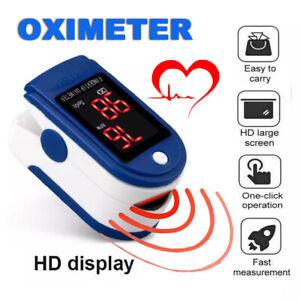Oximeter Finger Pulse Oximeter LED Fingertip Blood Oxygen Saturation Monitor