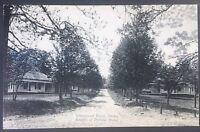 Vintage Postcard Knight of Pythias Home Elmnwood Drive Ovoca  C40