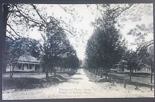 Vintage Postcard Knight of Pythias Home Elmnwood Drive Ovoca  C40