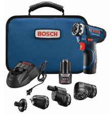 Bosch Flexiclick 5-in-1 Drill/Driver 12-Volt 1/4-in Cordless Drill w/out TAX