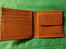 Coach Vintage Saddle Brown Leather Card Wallet