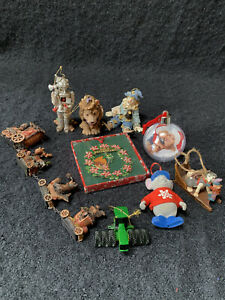 Christmas Ornaments lot (Wizard of Oz)