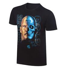 Stone Cold Steve Austin Skull Face WWE Authentic Mens T-shirt
