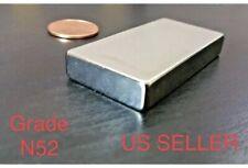 "N52 Neodymium 2"" x 1"" Block Magnet Super Strong Rare Earth"