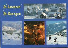 Alte Postkarte - St. Lorenzen - St. Georgen