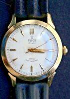 1940s Vintage TUDOR Prince 10k Gold Filled Rotor Self-Winding Wristwatch