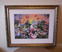 """Disney Framed """"A Magical Time In A Magical Place"""" Print - 2005 LImited Edition"""