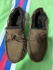 L.L.Bean Wicked Good Moccasins mens 13 wide