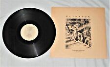 "Ultravox - Love's great adventure (extended mix) 12"" Vinyl PS"