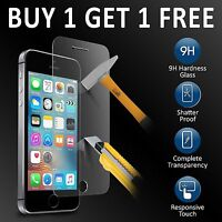 HIGH QUALITY PREMIUM REAL TEMPERED GLASS SCREEN PROTECTOR FOR IPHONE SE 5S 6 7