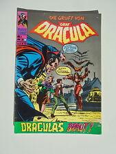 Die gruft von Graf Dracula - Heft Nr. 4 - Williams Verlag / Comic / Z. 2-