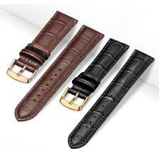 Correa de reloj de cuero de repuesto Universal para hombres y mujeres 12mm 14mm