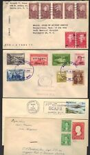 Philippines 1945-60 Four Covers Victory Joze Rizal Frankings On 2 Covers