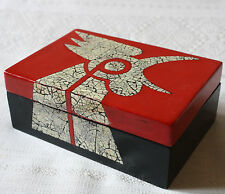Stone Carving Decorative Box Design Vietnam Asian Home Decor Eggshell Rooster