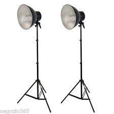 Illuminatore da Studio Lampada DayLight Kit 2x 450W a Luce Continua x Foto Video