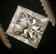 GIA Cert 0.48ct Princess cut Diamond I  SI-2