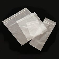 5000 PLASTIC RESEALABLE GRIP SEAL BAGS 4 x 5.5
