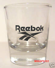 REEBOK SNEAKERS LOGO ON A CLEAR SHOT GLASS