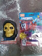 Mega Construx Masters Of The Universe He-Man Jet Sled And Skeletor And...