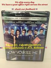 Now You See Me 2 4K Ultra Hd Blu Ray, Brand New Sealed, Ships out FAST!!