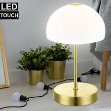 Runde LED Tischleuchten ausgefallene Glas Nachttischlampen für Schlafzimmer Büro