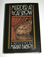 Murder At The Cat Show Marian Babson Mystery Like New FREE SHIPPING!