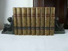 Shakespeare´s dramatische Werke. Meyers Klassiker-Ausgaben. 9 Bände. ca.1900