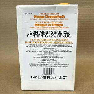 Starbucks Mango Dragonfruit Refresher Juice Base Concentrate 48 oz. (BB 05/21)
