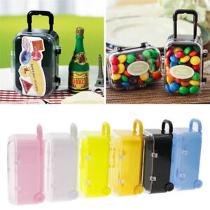 Suitcase Treat Case Birthday Gift Boxes Creative Baby Shower Mini Candy Boxes BT