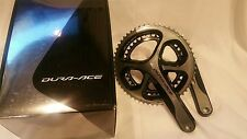 NEW Shimano Dura-Ace Crankset fc-M9000 2 x 11 S 175mm  53/ 39 w/o BB NEW ORIG B